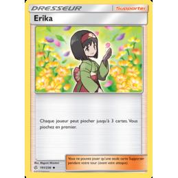Erika 191/236 Carte Dresseur peu commune VF
