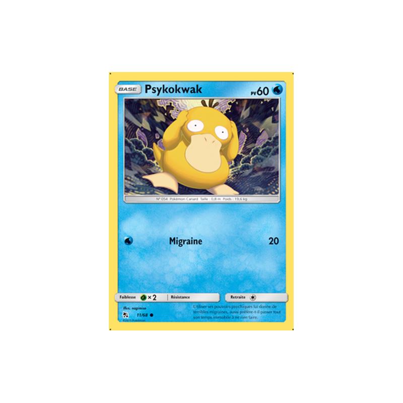 Psykokwak 11/68 PV60 Carte Pokémon™ commune neuve VF
