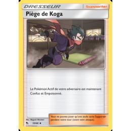 Piège de Koga 59/68 Carte...