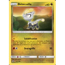 Bébécaille 52/70 PV60 Carte...