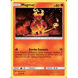 Magmar 21/236 PV80 Carte...