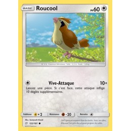 Roucool 122/181 PV60 Carte...