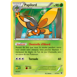 Papilord 4/124 Carte rare...