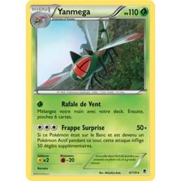 Yanmega 4/119 PV110 Carte rare neuve VF