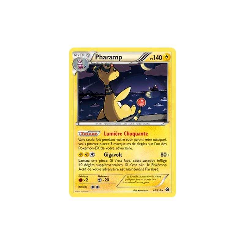 Carte Pokemon PHARAMP 40//114 HOLO Reverse XY11 Offensive Vapeur FR NEUF