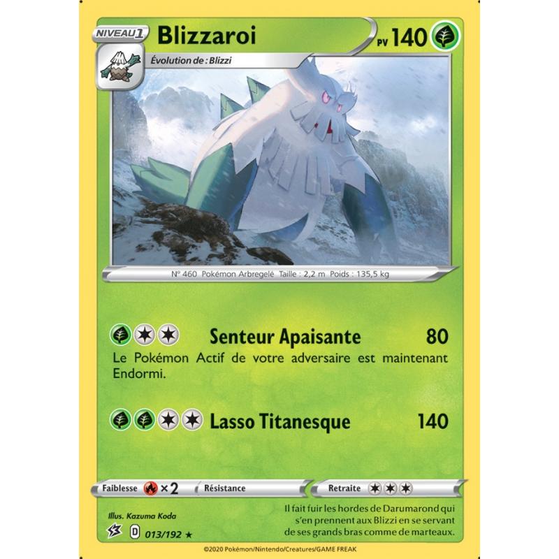 Blizzaroi 13/192 PV140 Carte rare Neuve VF