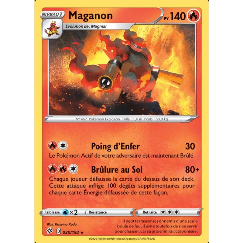 Maganon 30/192 PV 140 Carte rare Neuve VF