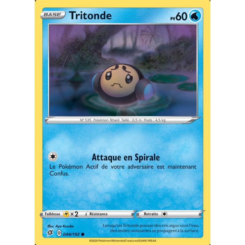 Tritonde 44/192 PV60 Carte commune Neuve VF