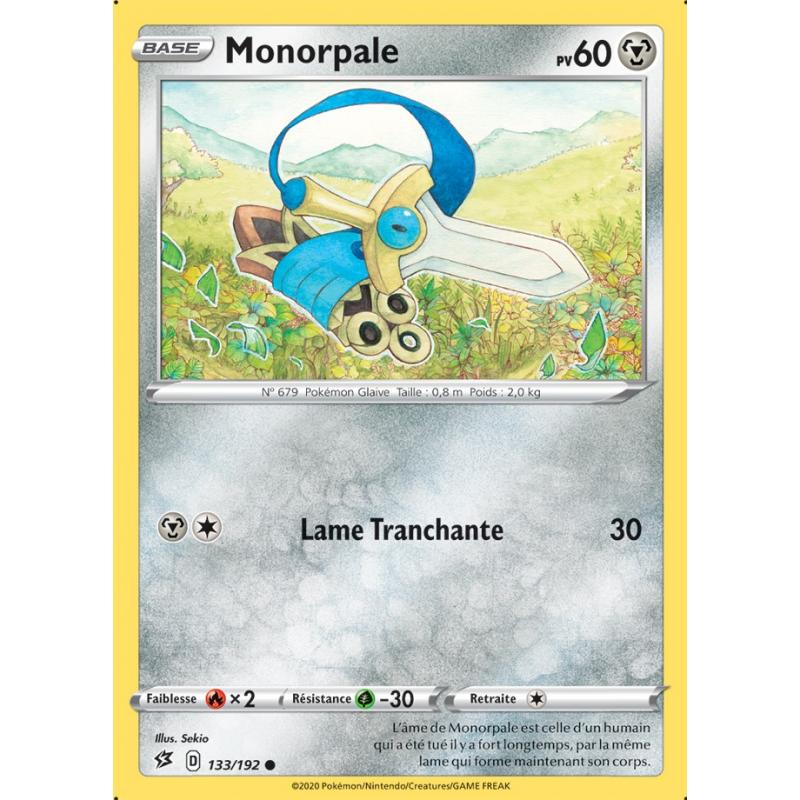 Monorpale 133/192 PV60 Carte commune Neuve VF