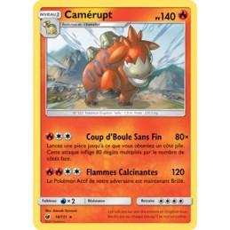 Camérupt 14/111 PV140 Carte...