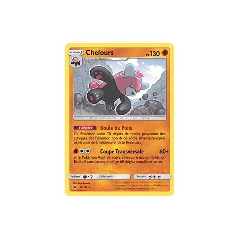 Chelours 56/111 PV130 Carte rare holo Neuve VF