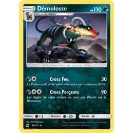 Démolosse 59/111 PV110 Carte rare Neuve VF