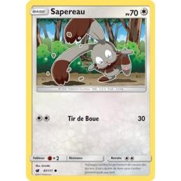 Sapereau 87/111 PV70 Carte...
