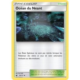 Océan du Néant 99/111 Carte Dresseur Neuve VF