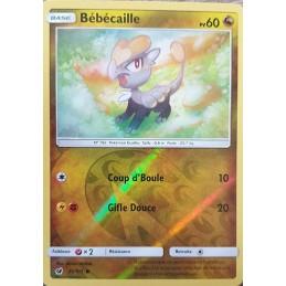 Bébécaille 75/111 PV60 Carte commune reverse Neuve VF