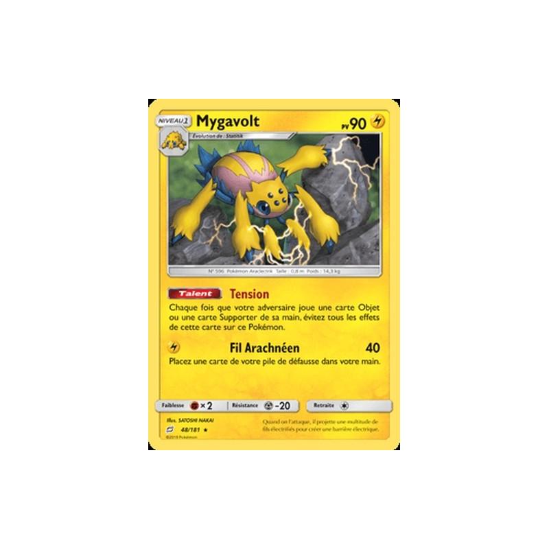 Mygavolt 48/181 PV90 Carte rare Neuve VF
