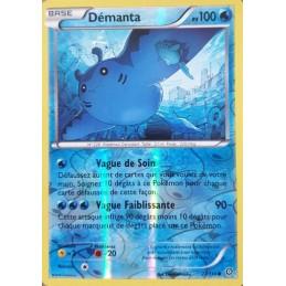 Démanta 27/114 PV100 Carte...