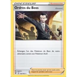 Ordre du Boss 154/192 Carte Dresseur rare holo Neuve VF