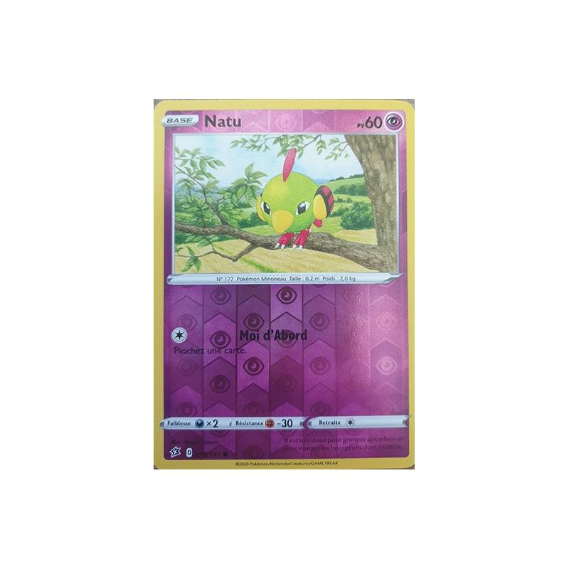 Natu 76/192 PV60 Carte commune reverse Neuve VF