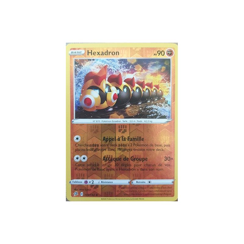 Hexadron 109/192 PV90 Carte Pokémon™ peu commune Reverse Neuve VF