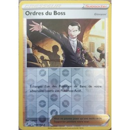 Ordre du Boss 154/192 Carte...