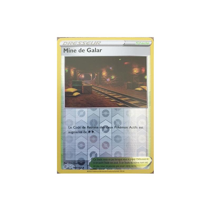 Mine de Galar 160/192 Carte Dresseur peu commune reverse Neuve VF