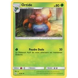 Ortide 3/236 PV80 Carte peu...