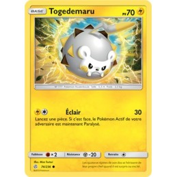 Togedemaru 74/236 PV70 Carte commune Neuve VF