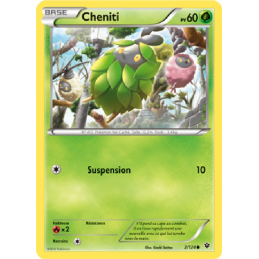 Cheniti 2/124 Carte...