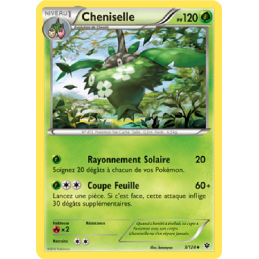 Cheniselle 3/124 Carte...