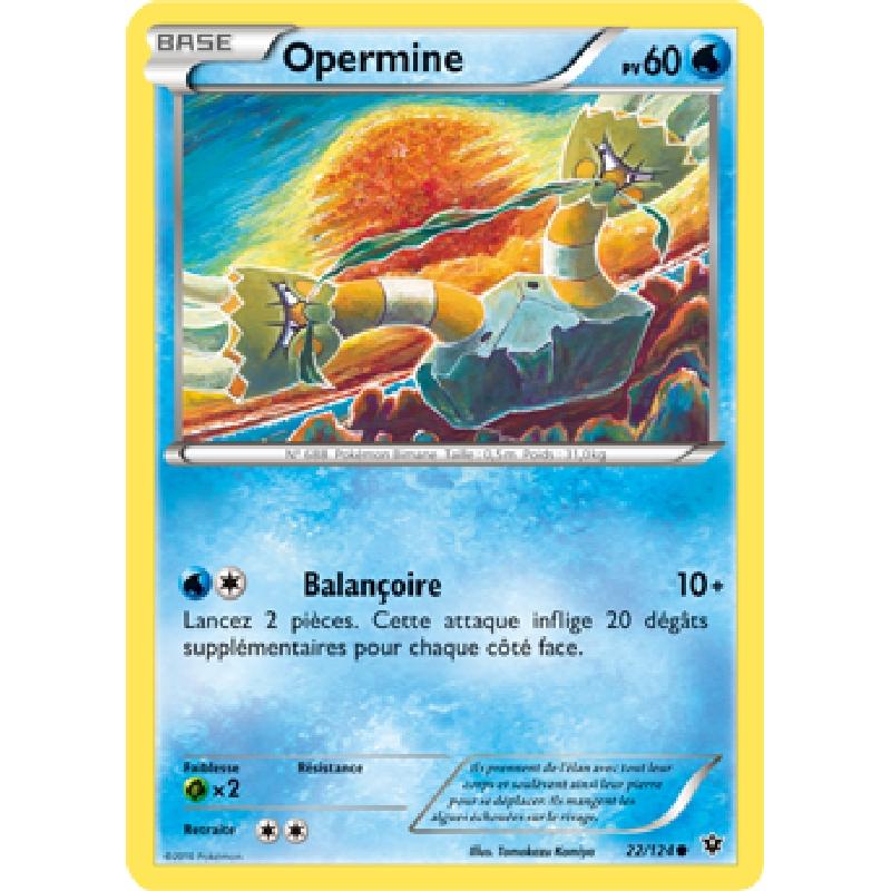 Opermine 22/124 PV60 Carte Pokémon™ commune neuve VF