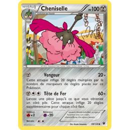 Cheniselle 59/124 PV100 Carte Pokémon™ peu commune neuve VF