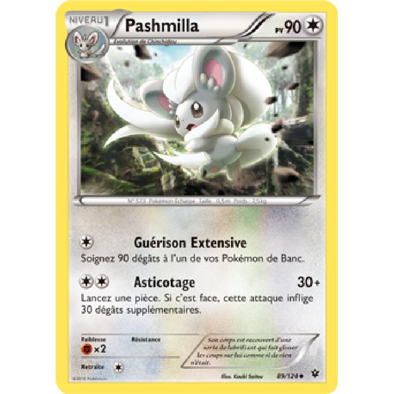 Pashmilla 89/124 PV90 Carte Pokémon™ peu commune neuve VF