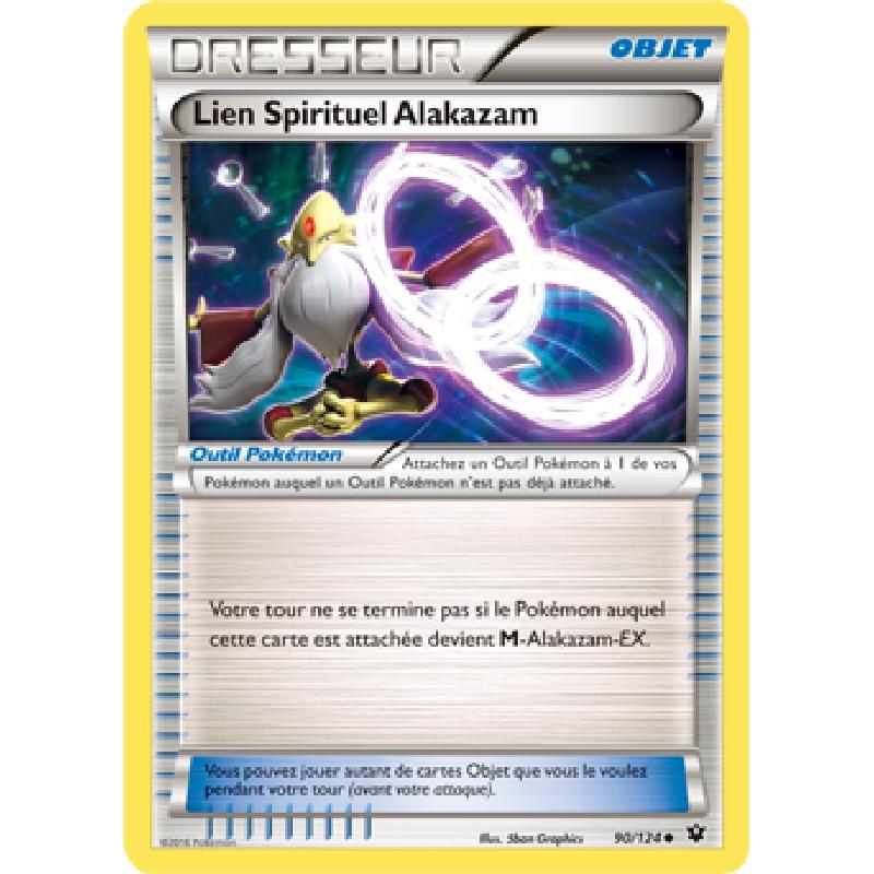 Lien Spirituel Alakazam 90/124 Carte Pokémon™ Dresseur neuve VF