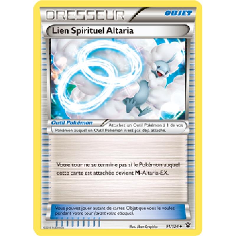 Lien Spirituel Altaria 91/124 Carte Pokémon™ Dresseur neuve VF