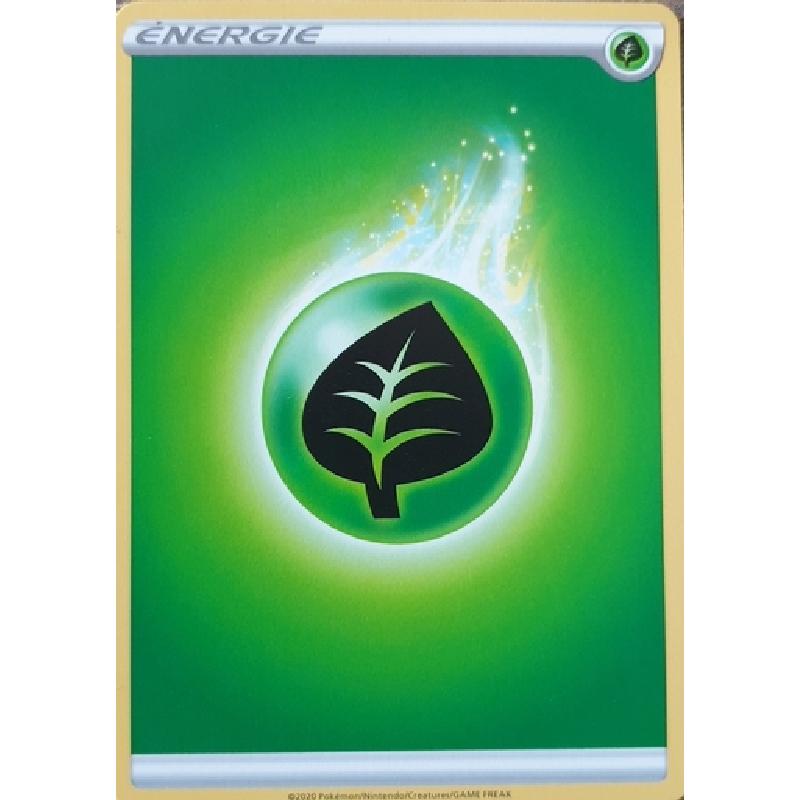 Carte Pokémon™ énergie Plante neuve VF