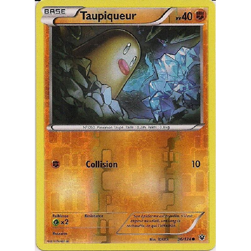 Taupiqueur 36/124 PV40 Carte Pokémon™ Reverse commune neuve VF