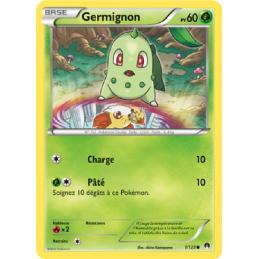 Germignon 1/122 PV60 Carte...