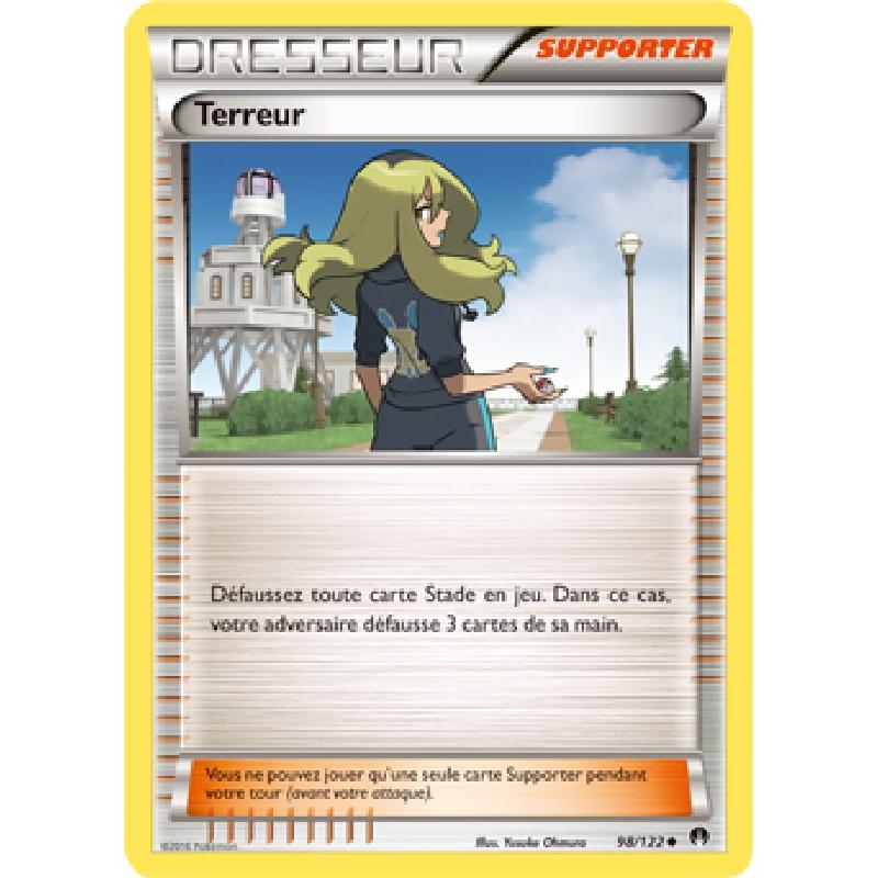 Terreur 98/122 Carte Pokémon™ Dresseur neuve VF