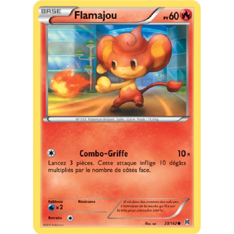 Flamajou 23/162 PV60 Carte Pokémon™ commune neuve VF