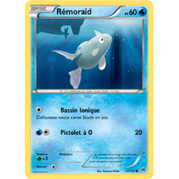 Rémoraid 32/162 PV60 Carte...