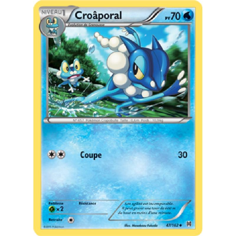 Croâporal 47/162 PV70 Carte Pokémon™ peu commune VF