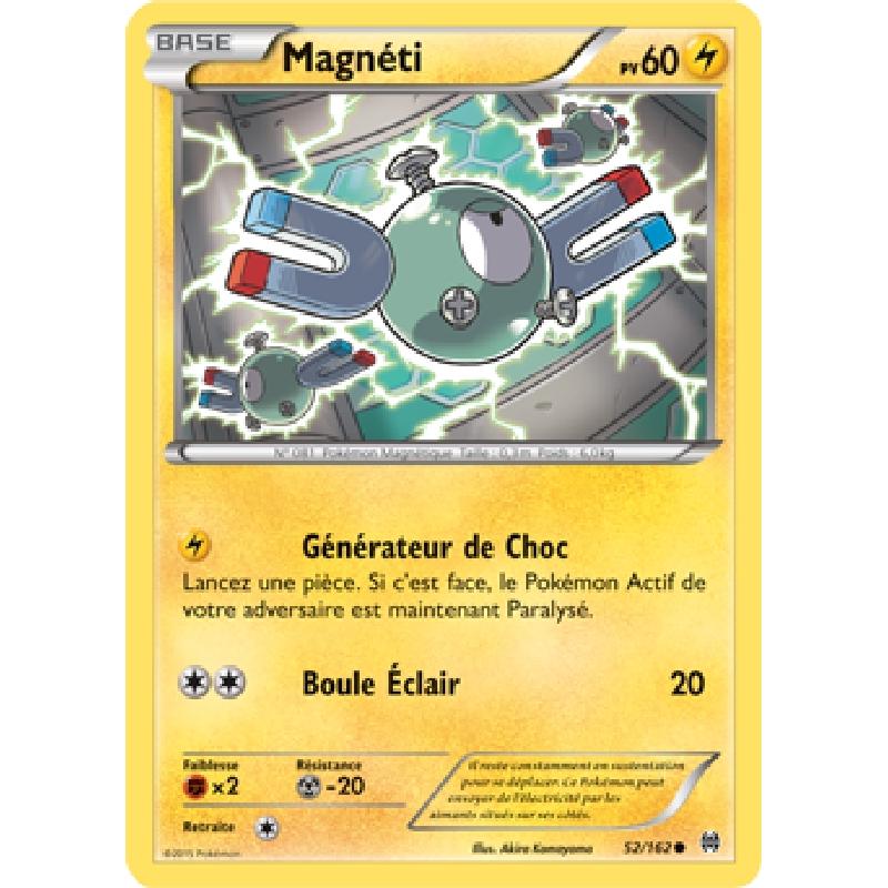 Magnéti 52/162 PV60 Carte Pokémon™ commune neuve VF