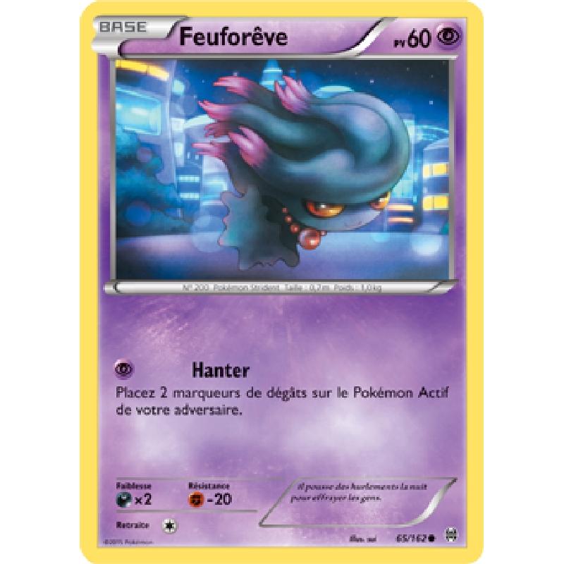 Feuforêve 65/162 PV60 Carte Pokémon™ commune neuve VF