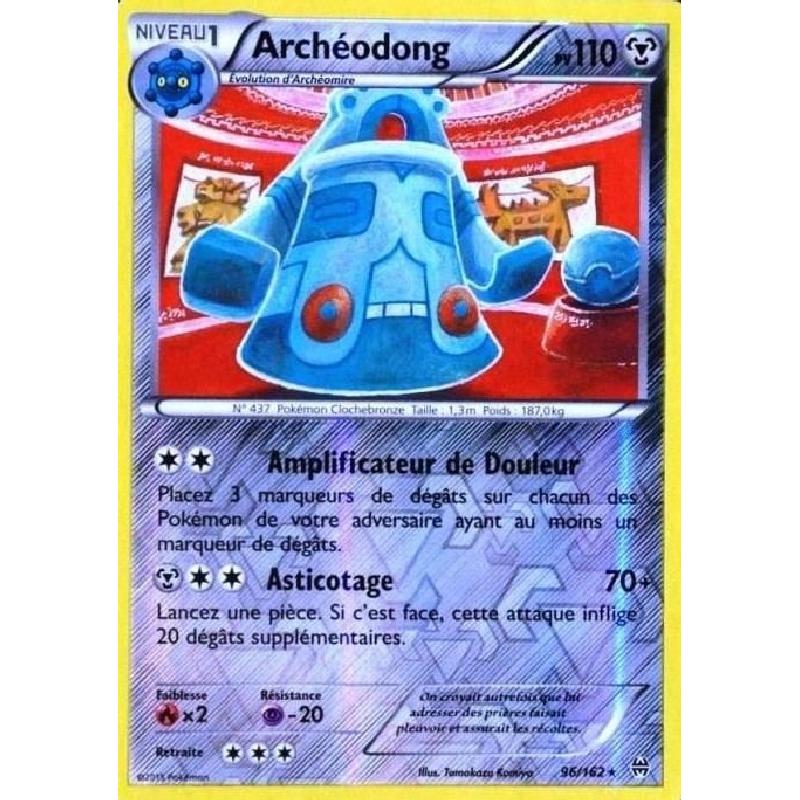 Archéodong 96/162 PV110 Carte Pokémon™ reverse rare neuve VF