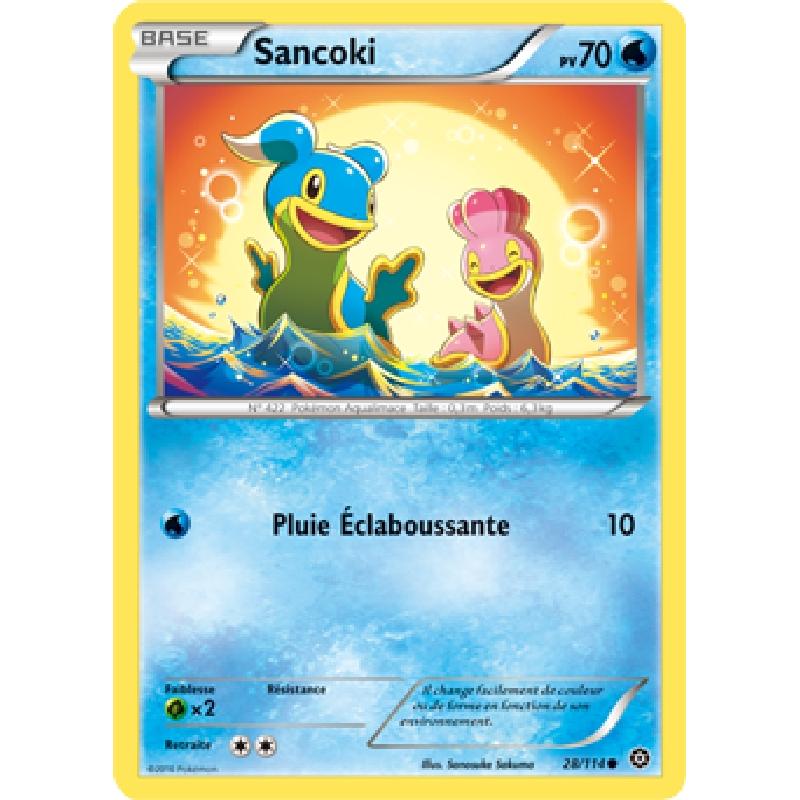 Sancoki 28/114 PV70 Carte Pokémon™ commune neuve VF