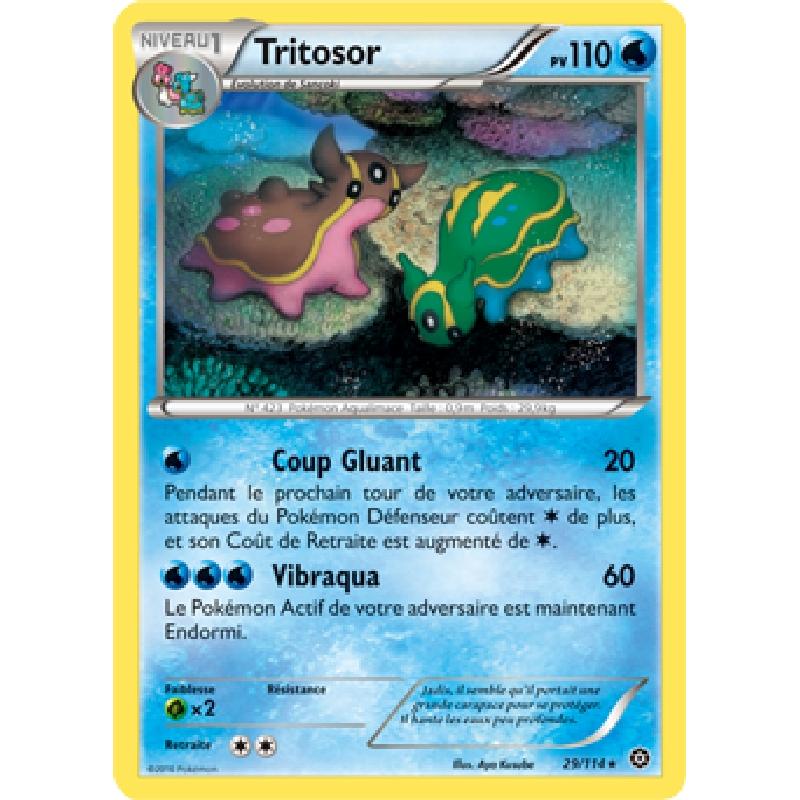Tritosor 29/114 PV110 Carte Pokémon™ rare neuve VF