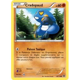 Cradopaud 58/114 PV60 Carte Pokémon™ commune neuve VF