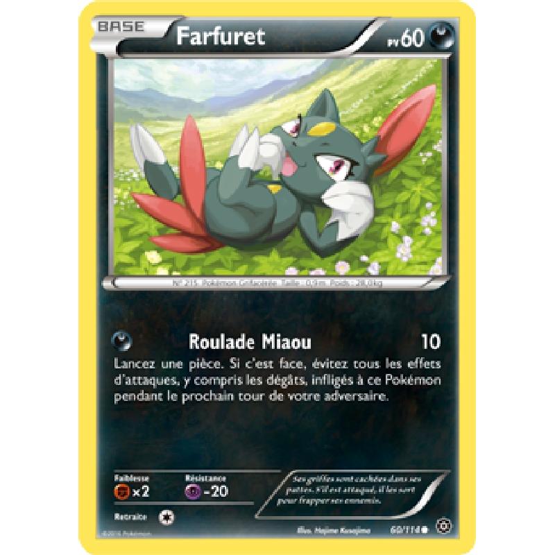 Farfuret 60/114 PV60 Carte Pokémon™ commune neuve VF