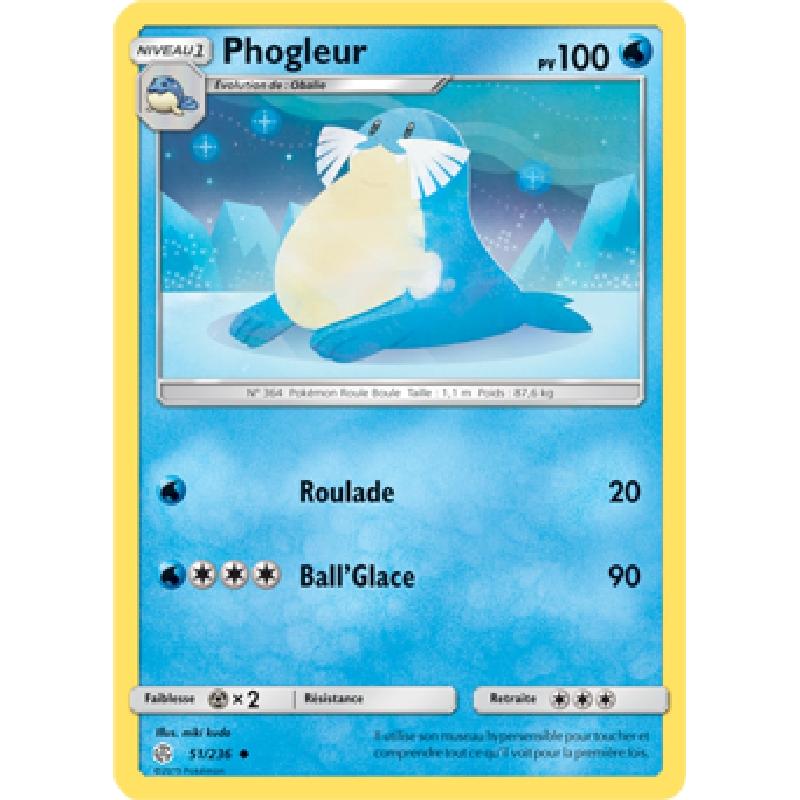 Phogleur 51/236 PV100 Carte Pokémon™ peu commune neuve VF